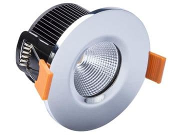 LED Fire Rated Downlight 4.7W Chrome 240V